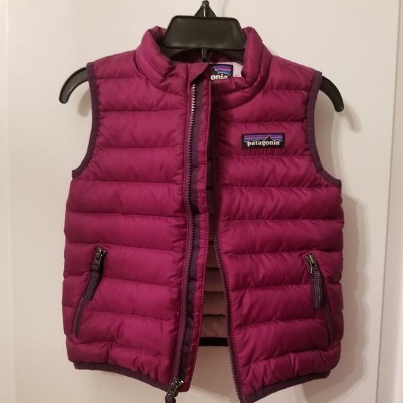 Patagonia Jackets Coats Baby Down Sweater Vest Poshmark